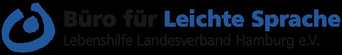 Büro für Leichte Sprache Hamburg Retina Logo